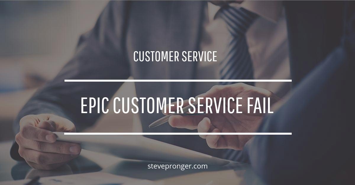 Telstra Customer Service Fail