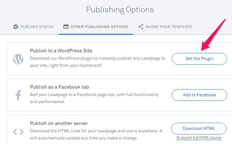 LeadPages WordPress Integrations 5