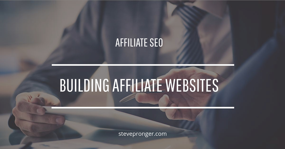 Building Affiliate Websites