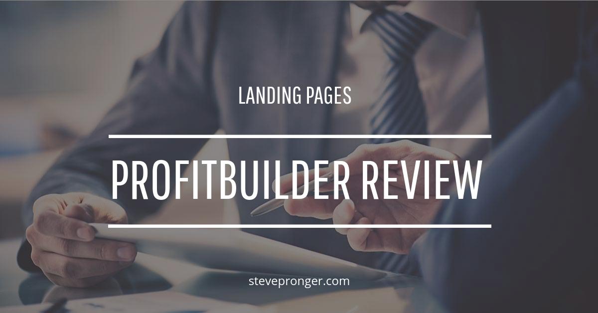 Profit Builder Review