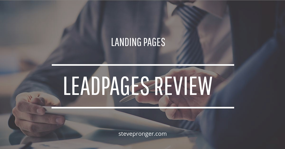Specs Of Leadpages