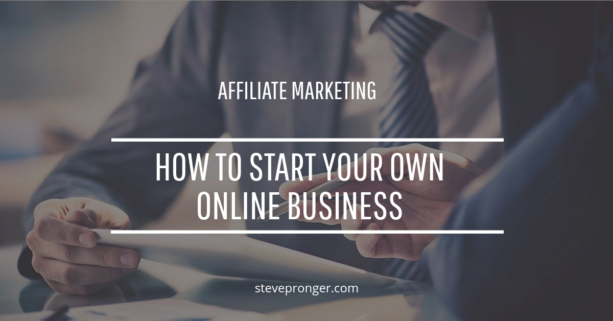 How to Start Your Own Online Business