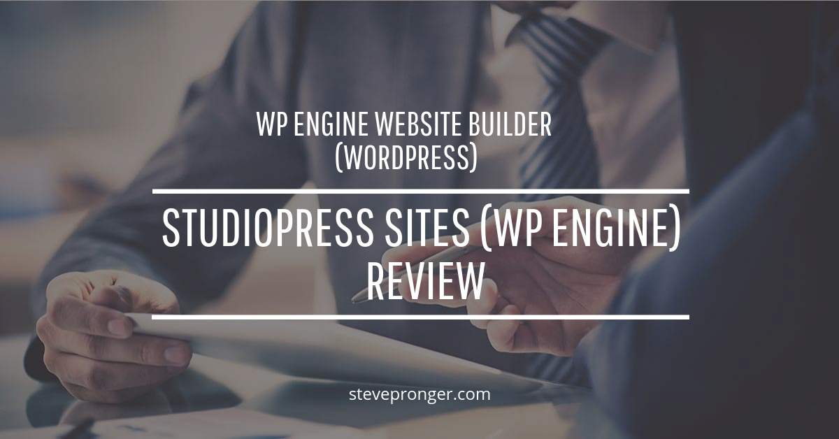 StudioPress Sites (WP Engine) Review