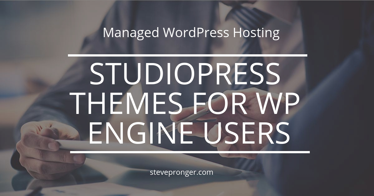StudioPress Themes and Genesis Framework free for WP Engine users